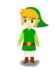Wind Waker Link by miki-dia2199