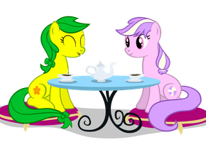 OC Request: Lily Spark and Purple Cream: Base by thecoltalition