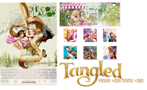 [PSD giveaway] Tangled for everyone by Kr137
