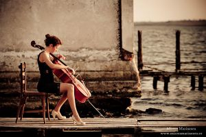 Cello Concert for nature 3 by Mircea-Marinescu