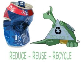 Dragons: Recycle Dragon by Kmadden2004