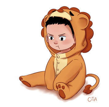 Lion Onesie feat. Baby Damian by OtterTheAuthor
