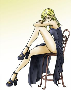 Parasite Eve: the fanart by ZayneZaneko