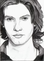 Ben Barnes Sketch Card by MiliaTimmain