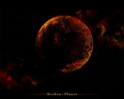 Broken Planet by Zilleniose