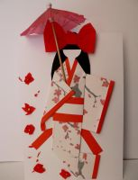 japanese paper doll by GirlOfTheOcean