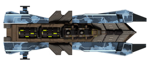 Battle Pirates contest entry: Reaver Hull B.A.N.E. by WyvernsBlade
