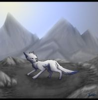 ... mountains by BlueSzpon