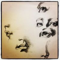 facial feature study by wmarinics18