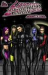 Lightspeed Enforcers: the bad guys...and gals by kwking21