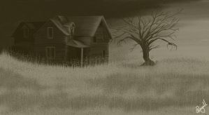 Halloween House 2 by mannafig