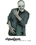 PNG (15) ZOMBIE by elyssafawn