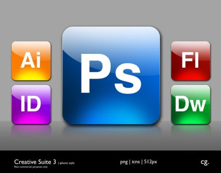 Creative Suite 3 iPhone Style by cgink