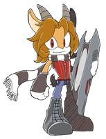 CM: Isaac Sonic Riders Style by shadowhatesomochao