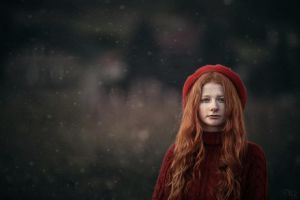 red bonnet by zazielona