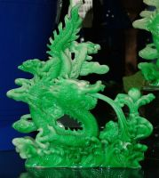 Jade dragon by JensStockCollection