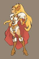She-Ra - barbarian oomph by thejason10
