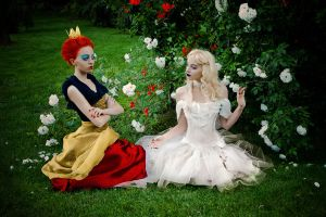 Queens of Wonderland II by ideea