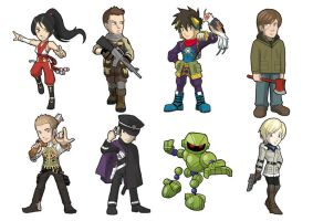 Game Heroes pack 7 by Fandias