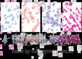 4 square scatter brushes. by iwillbeyourvoice