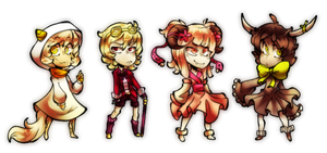 Mini Cheeb Adoptables (Open!) by Sandette