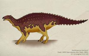 023--SCELIDOSAURUS HARRISONII by Green-Mamba