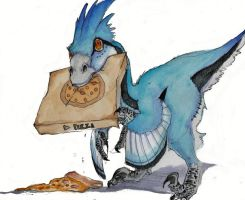 Sometimes I get Hangry .... by Dragon--Feathers