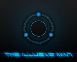 Illusive Man Wallpaper by EspionageDB7