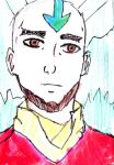Adult Aang by Fran48