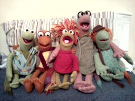 Fraggle Five Plush - 1980s by TomFraggle