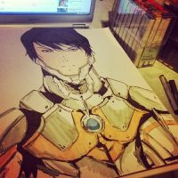 Ultraman by ArtismyDeath