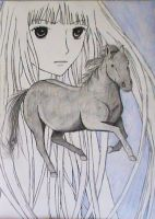Fruits Basket - Rin by yes-its-yaz