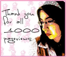 1000 Pageviews by Chachai