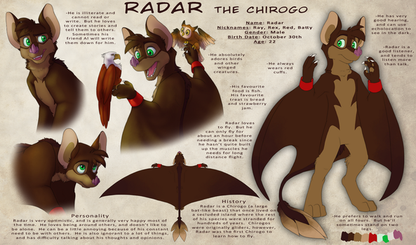 Radar the Chirogo by AbsoluteDream