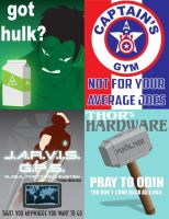 Avengers Product Placement by baggs