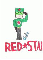 Chibi Red Star by keithyboo