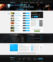 Game Hosting Page by MajeStik91