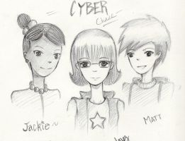 Cyber Chase Team by clockworkpieces