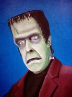 Herman Munster. by mikegee777