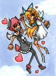 Love is In The Air by HappehCakes