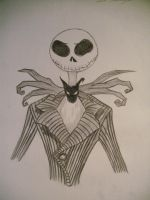 Jack Skellington by HappyEmoRocker