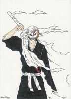 Ichigo - Shinigami and Hollow by SabakuGaara89