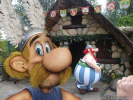Asterix Untooned Papiel by curi222