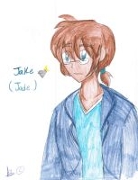 Jade as a man by chook-four