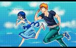 Color and Wallpaper Rush - Ichigo and Rukia by Erian-7