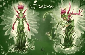 Gronkwin, the green lady by WDFloyd
