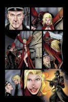 Coven #1 page 3 preview (unlettered) by RIVOLUTION