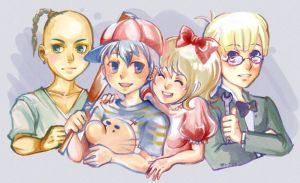 The Chosen Four -- MOTHER2 by Wasil
