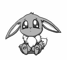 Lil Eevee Base by SirKittenpaws