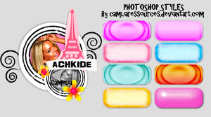 photoshop styles 2011-1 by cameliaRessources